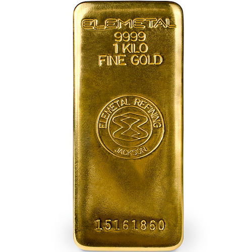 Buy 1 Kilo Elemetal Gold Bars Online Brand New L Jm Bullion