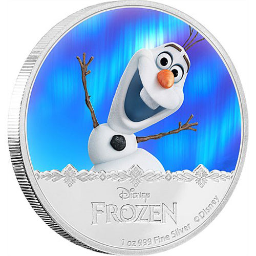 Buy 2016 1 Oz Niue Silver Disney Frozen Olaf Coins L Jm Bullion