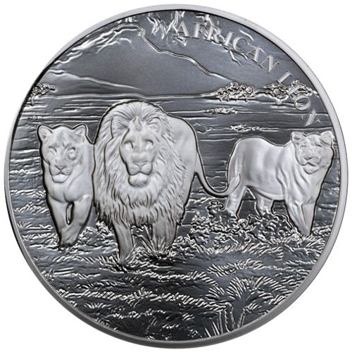 Buy 2016 5 Oz Congo Silver African Lion Coins Online 166 Jm