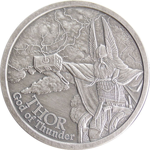 Buy Antique Norse God Silver Rounds - Free Shipping l JM Bullion™