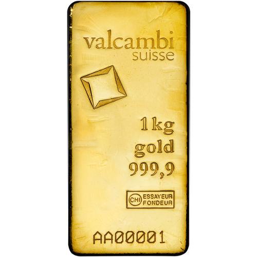 Buy 1 Kilogram Valcambi Cast Gold Bars New L Jm Bullion