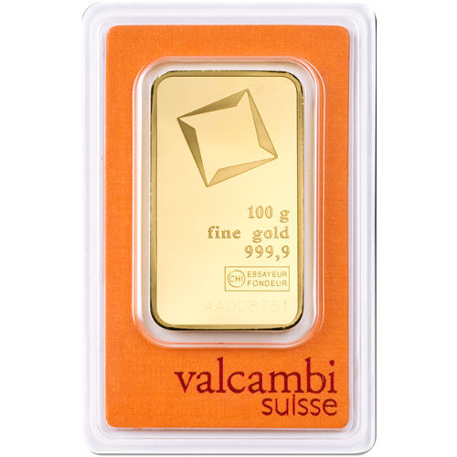 Buy 100 Gram Valcambi Gold Bars Brand New L Jm Bullion