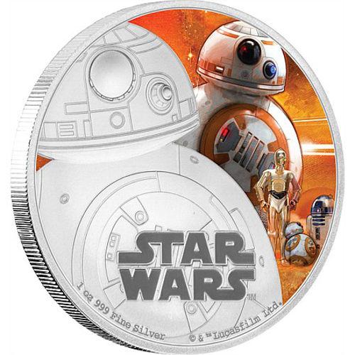 Buy 2016 1 Oz Niue Silver Star Wars Bb8 Proof Coins L Jm