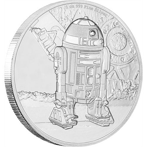 Buy 2016 1 Oz Niue Silver Star Wars R2d2 Coins L Jm Bullion