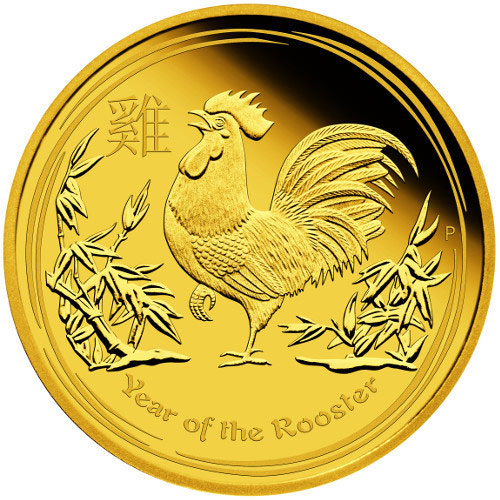 Buy 2017 1 Oz Proof Australian Rooster Gold Coins Online L