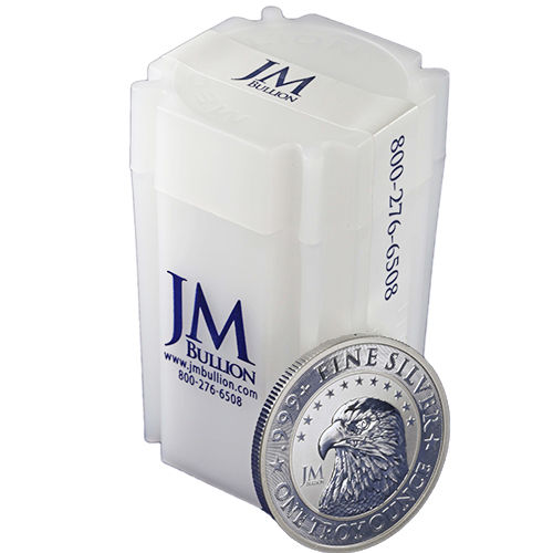 Buy 1 Oz Jm Bullion Eagle Silver Rounds Online New L Jm