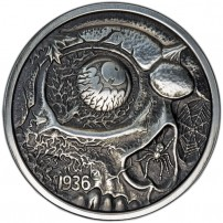 1-oz-Antique-Nightmares-of-the-Fall-Silver-Round