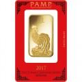 Buy 100 Gram Pamp Suisse Lunar Rooster Gold Bars L Jm Bullion