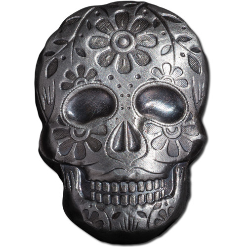 Buy 2 Oz Monarch Day Of The Dead Skulls Online L Jm Bullion
