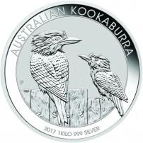 2017-1-kilo-australian-silver-kookaburra-rev