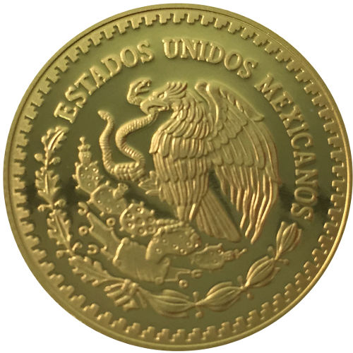 2016 1 2 Oz Proof Mexican Gold Libertad Coin In Capsule