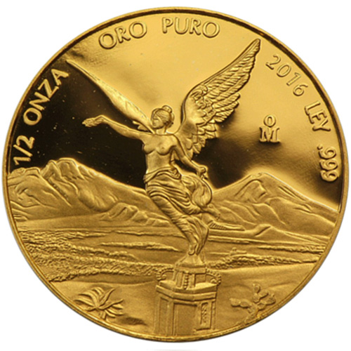 Buy 2016 1 2 Oz Mexican Gold Libertads Online L Jm Bullion
