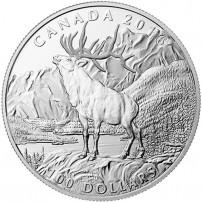 2016-1-oz-100-proof-canadian-silver-noble-elk-rev