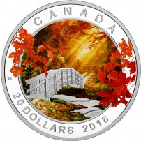 2016-1-oz-proof-canadian-silver-autumn-tranquillity-rev