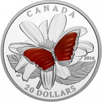 2016-1-oz-proof-canadian-silver-colorful-wings-butterfly-rev