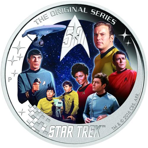 2 Oz Tuvalu Star Trek U S S Enterprise Ncc 1701 Crew