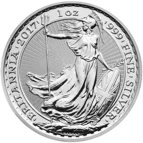 Buy 2017 Silver Britannias Online 1 Oz 999 L Jm Bullion