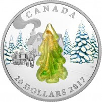 2017-1-oz-proof-canadian-silver-snow-covered-trees-rev