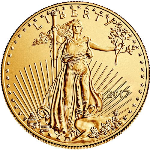 Buy 2017 1 Oz American Gold Eagles Jm Bullion
