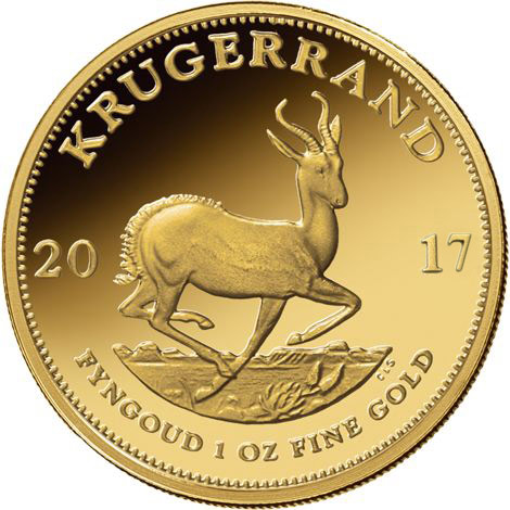 2017 1 Oz South African Gold Krugerrands Jm Bullion