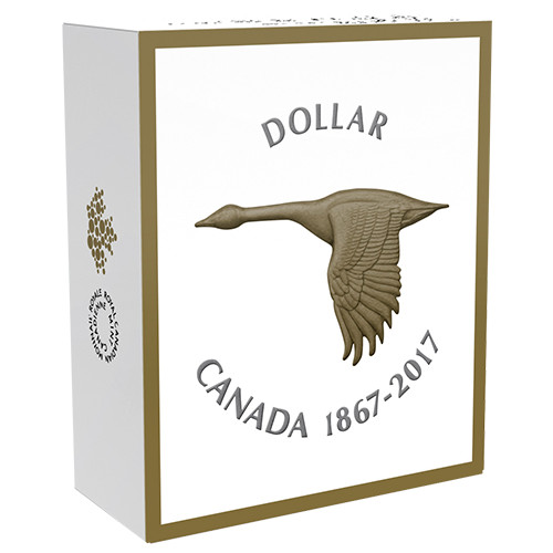 canada goose gold coin