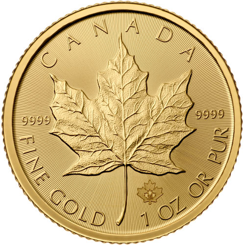 Buy 2017 1 Oz Canadian Gold Maple Leafs Online Jm Bullion