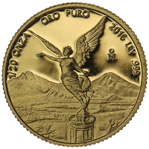 Buy 2016 1 20 Oz Proof Mexican Gold Libertads Online L Jm