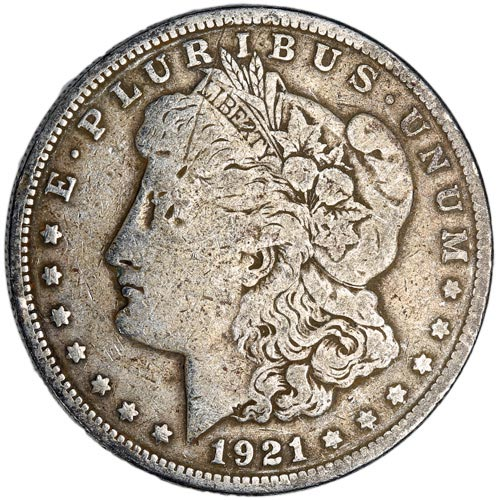 Buy Morgan Silver Dollars Online (1921)