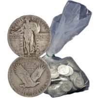 Silver-Standing-Liberty-Quarters-100-Dollar-FV