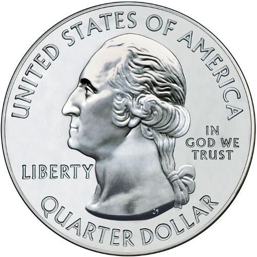 2018 S Cumberland Island National Seashore ATB Quarter Dollar