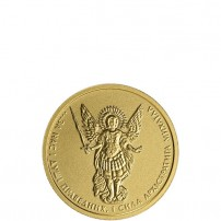 2015-1-Tenth-Oz-Ukranian-Gold-Archangel-Michael-Coin-BU-feat