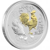 2017-1-oz-australian-silver-rooster-coin-gilded-rev