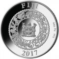 2017-1-oz-proof-fiji-pearl-rooster-silver-coin-rev
