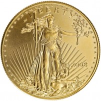 2008 1 oz American Gold Eagle Coin