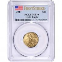 2017-1-4-oz-american-gold-eagle-pcgs-ms70-fs-obv