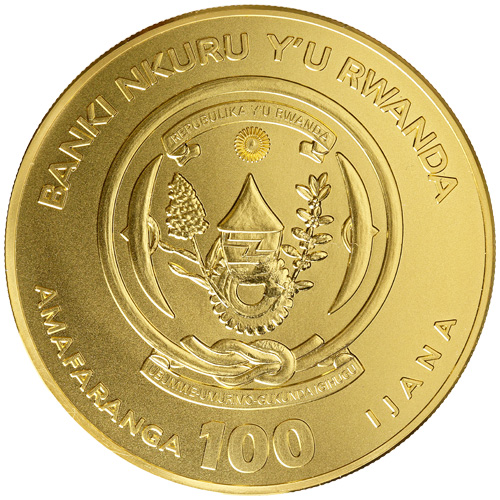 Buy 2017 1 Oz Rwandan Gold Lunar Rooster Coins L Jm Bullion