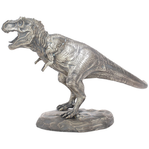 Buy 8 Oz Antique Finish T Rex Silver Statues Jm Bullion