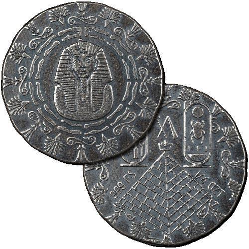 Buy 1 4 Oz Monarch Egyptian Silver Rounds L Jm Bullion