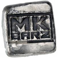1-oz-MK-Barz-Hand-Poured-Antique-Logo-Silver-Bar