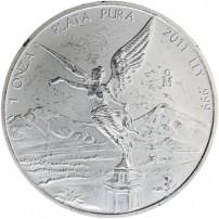 2011 1 oz Mexican Silver Libertad Coin