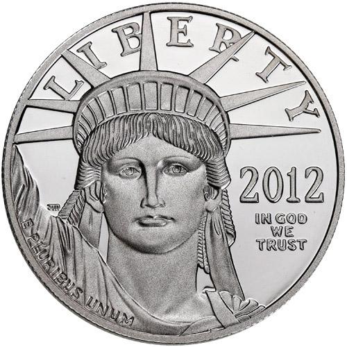 Buy 2012 W 1 Oz Proof American Platinum Eagle Coins Online