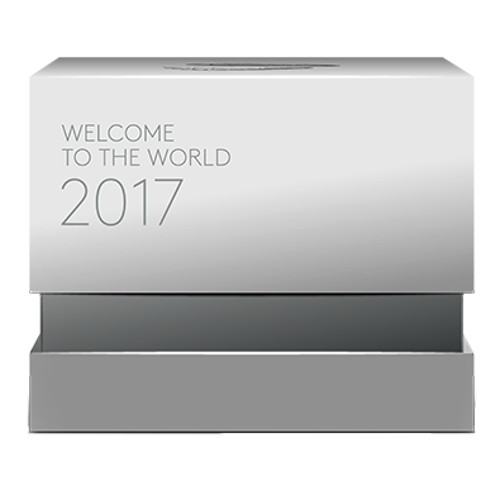 2016 $10 Fine Silver Proof  Welcome the World