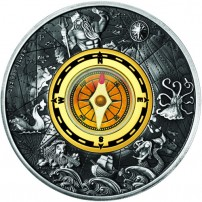 2017-2-oz-antique-tuvalu-silver-compass-coin-rev
