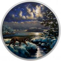 2017-2-oz-proof-canadian-silver-animals-in-moonlight-cougar-rev-1