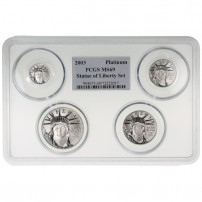 American-Platinum-Eagle-Coin-PCGS-MS69-Set-VariedYear