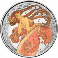 1-oz-proof-colorized-mucha-collection-dance-silver-round-rev