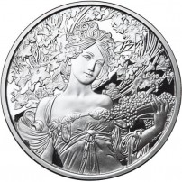 1-oz-proof-mucha-collection-champagne-silver-round-rev