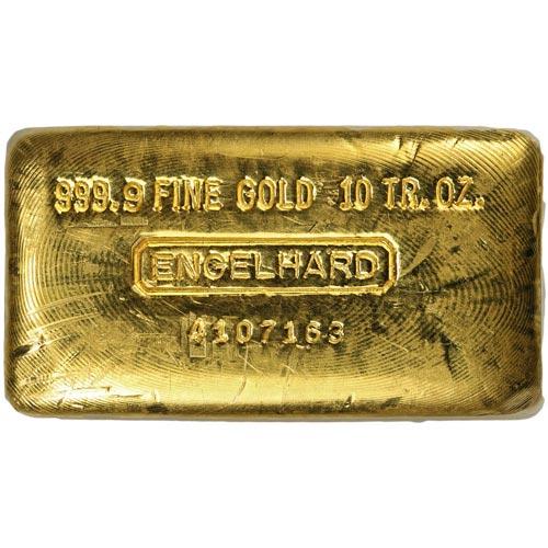 Buy 10 Oz Engelhard Gold Bars Online Jm Bullion