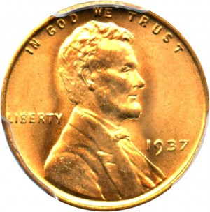 1937 lincoln wheat penny value jm bullion image courtesy of david lawrence rare coins publicscrutiny Images