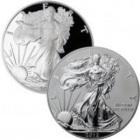 2012-S-American-Silver-Eagle-San-Francisco-Mint-75th-Anniversary-2-Coin-Set-COINS